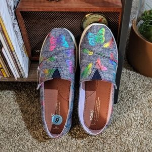Holographic Butterfly Toms